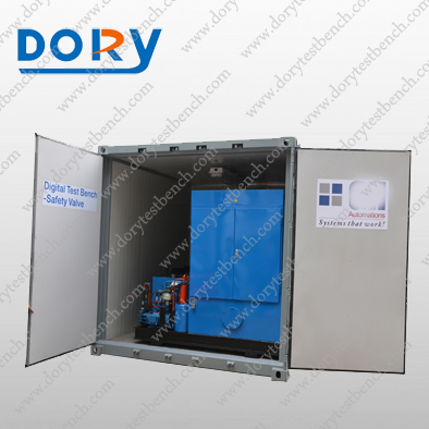 Mobile Container Type Safety Valve Test Bench