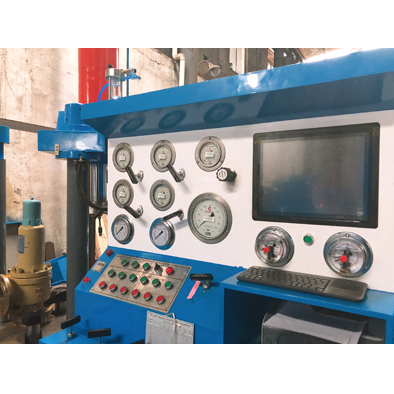 Pressure Safety Valves Test Stand With Bubble Counter